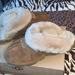 Ugg Coquette slip on shoes, barely worn